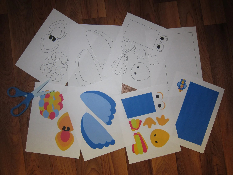 Fairytale Printable Paper Bag Puppet Cut Outs