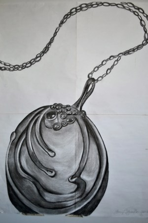 vampire diaries drawing tvd drawings inspired easy items sketches vine charcoal necklace pencil dairies katherine similar quotes mostly dessin signs
