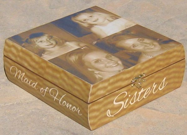 Personalized Keepsake Box Sister Gift Maid by ...