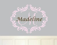 Wall Monogram Decal - 1000+ ideas about monogram wall ...