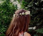 hippie daisy headband prom flower