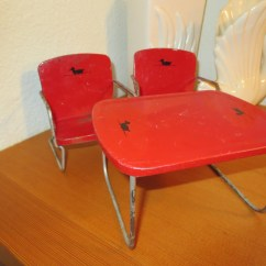 Antique Metal Chairs For Sale Ergonomic Chair Neck Support Vintage Table Doll Duck Design