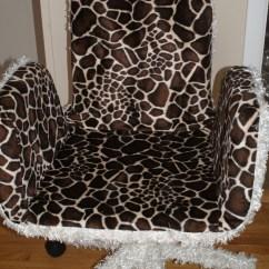 Giraffe Print Chair Fishing Bag Office By Oobinogginum On Etsy
