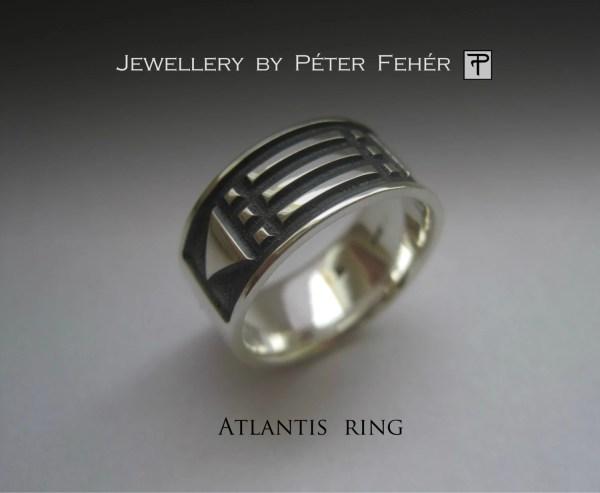 Sterling Silver Atlantis Ring Jewelry Egszeresz