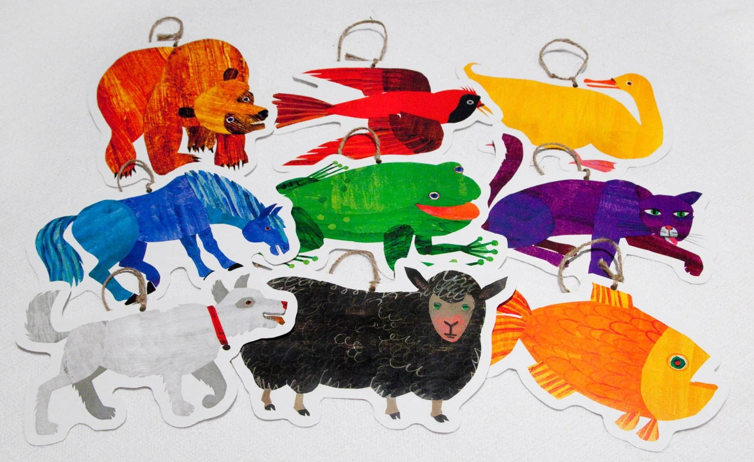 Printable Brown Bear Book Characters Hanging By Michelematheny