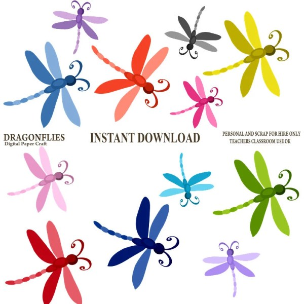 dragonfly clipart dragonflies