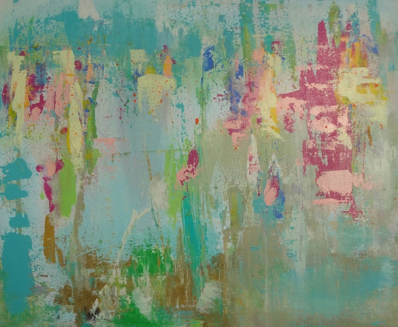 Original Abstract Textured Art Pink Magenta By Susanskelleyart