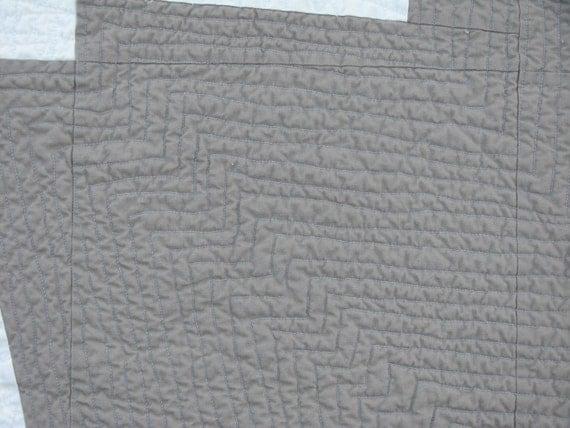 Modern Quilt Pattern Improv Pieced Pattern Flash Burn Quilt