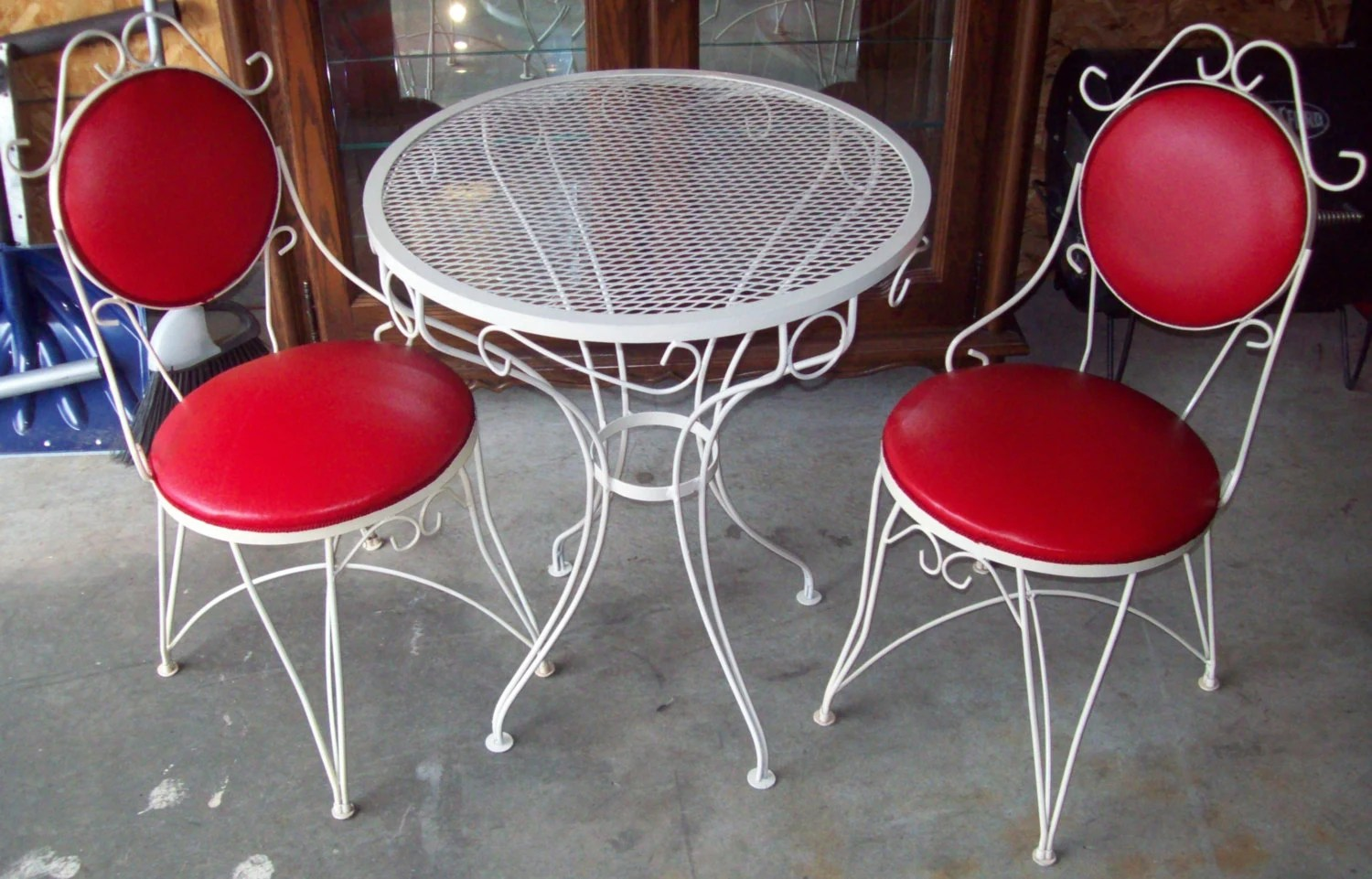 ice cream parlor table and chairs at costco