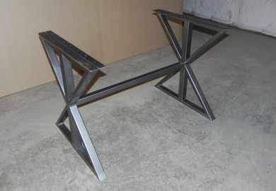 Dining Table With Metal Top