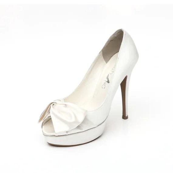 Platform Bridal Shoes