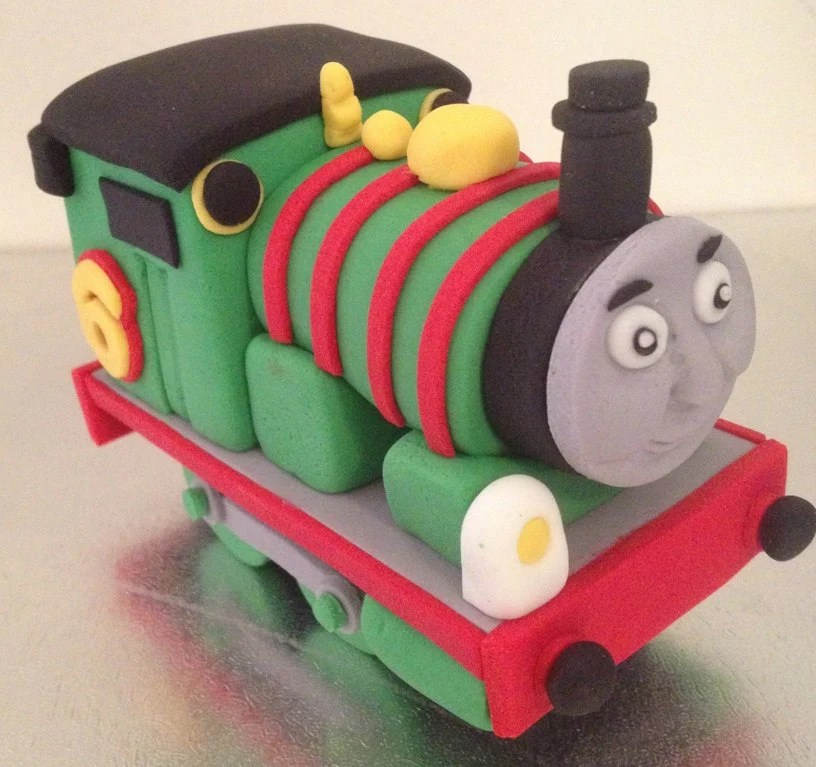 Items Similar To Train Cake Topper Edible Fondant Icing On