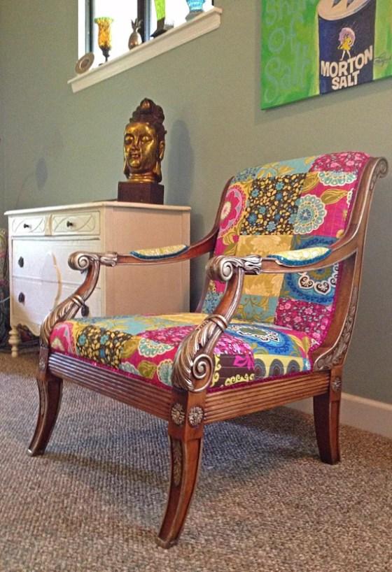Bohemian Style Armchair