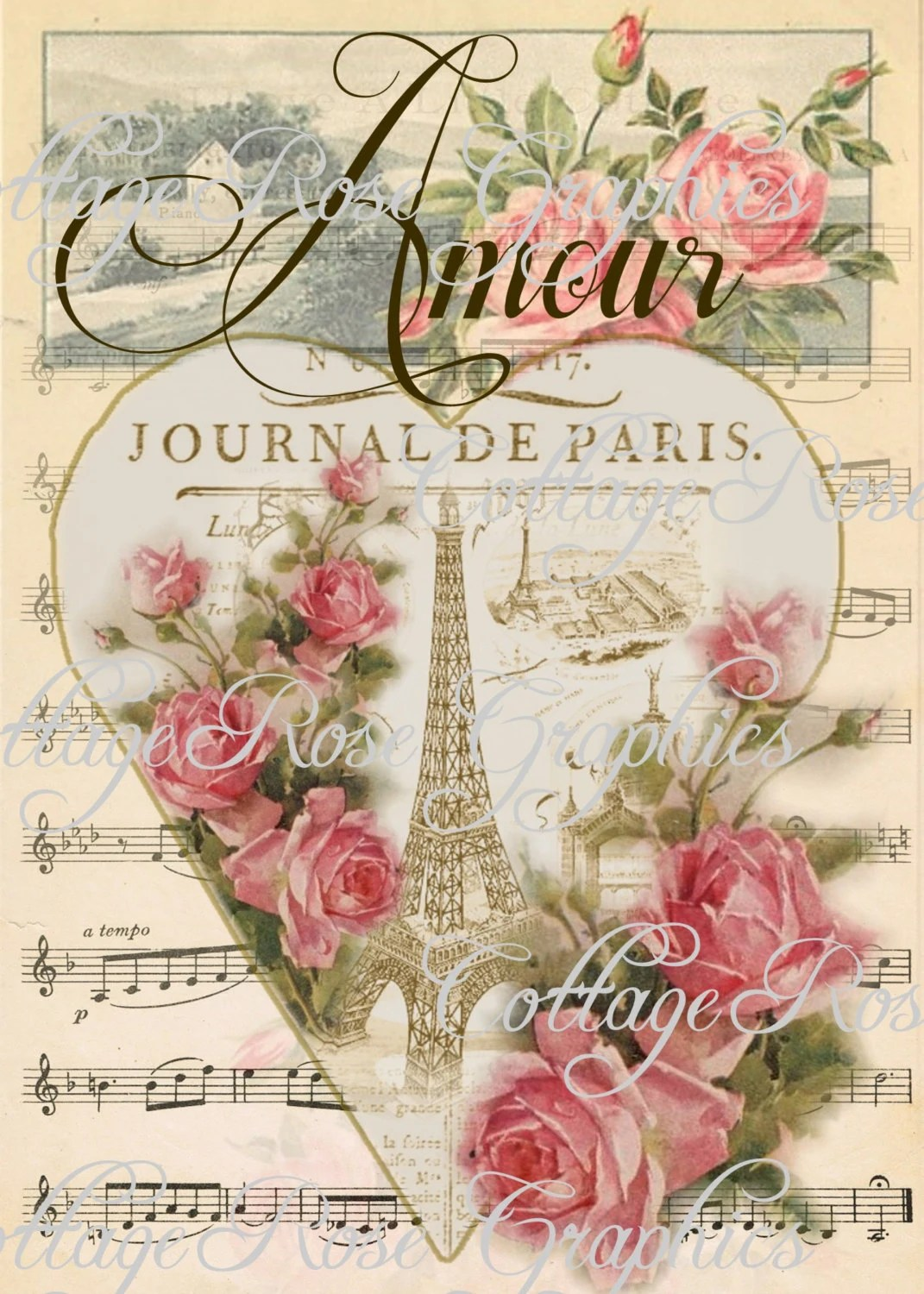 French Country Decor Prints
