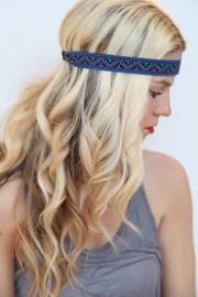 aztec hair band summer style geometric