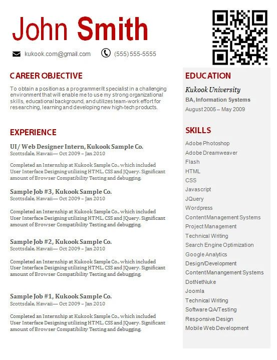 student resume templates no work experience