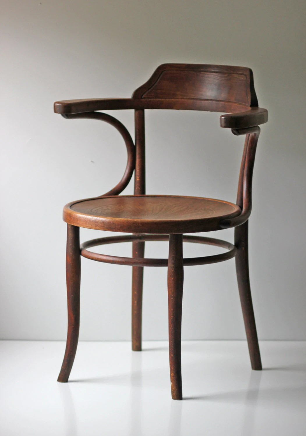 bent wood chair best wooden high marked thonet cafe bistro bentwood