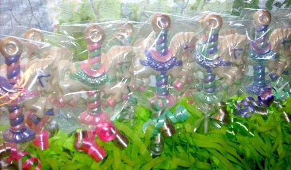 Chocolate Carousel Horse Lollipops 10