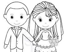 Popular items for bride groom wedding on Etsy