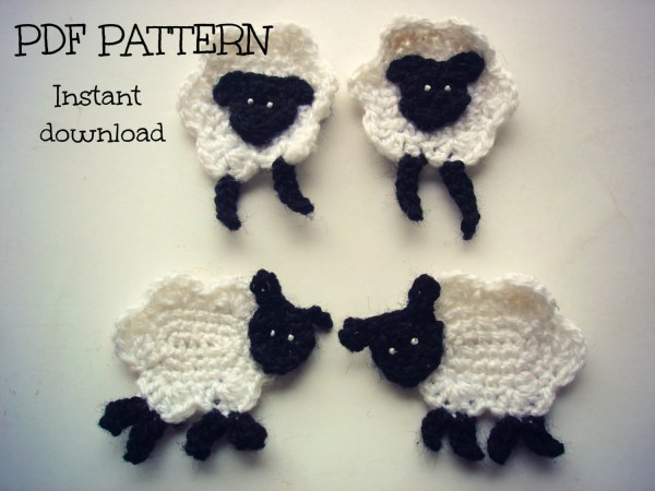 20 easy crochet animal appliques free patterns pictures and ideas