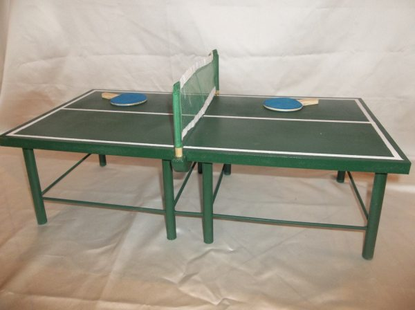 Ping Pong Table Tennis Table for the by AllDolledUpInPeoria