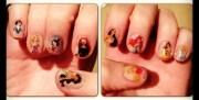 disney princess nail decals