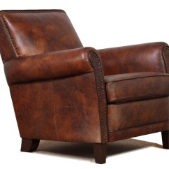Genuine Leather Chair Plastic Patio Table And Chairs Set High End Accent Club