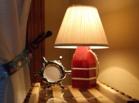 Nautical Lobster Buoy Lamp. Made in Maine by MaineLobsterTrap