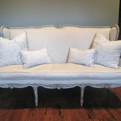 Chic Sofas Uk Convertible Sofa Bed Online India Shabby Antique Louis Xv French Style