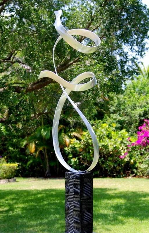outdoor metal art modern design