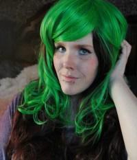 Emerald Green Hair Color