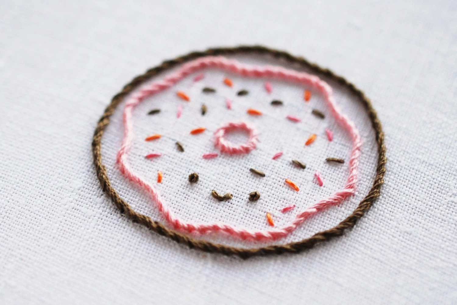 Donut Shop - PDF Hand Embroidery Pattern