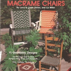 Macrame Lawn Chair Work Accessories Vintage Seating Patterns For Plaid By Jorenes
