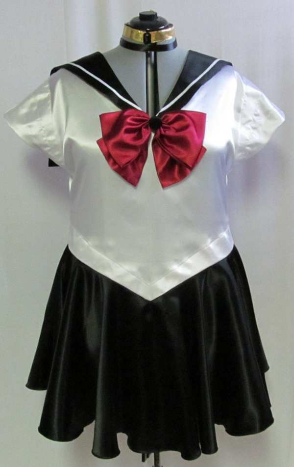 Size Sailor Pluto Scout Costume Cosplay Adult Women'