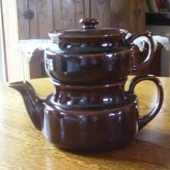 Kitchen Pot Sets Outdoor Pergola Brown Pottery Double Drip O Lator Coffee Or Teapot