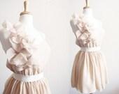 Romantic Chiffon Rose Petals and Chiffon Bridesmaid Dress - CGHeaven