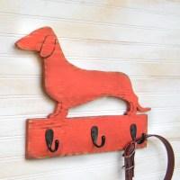 Dachshund Leash Hook Holder Dog Collar Leash Hook