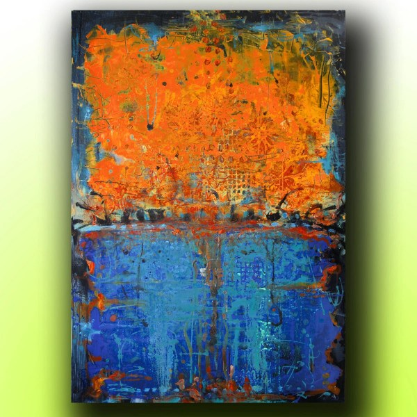 Art.painting. Abstract. Acrylic Painting. Canvas