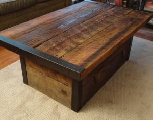 Barn Wood Coffee Table Plans