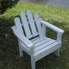 Distressed Adirondack Chairs High Chair Argos Childs White
