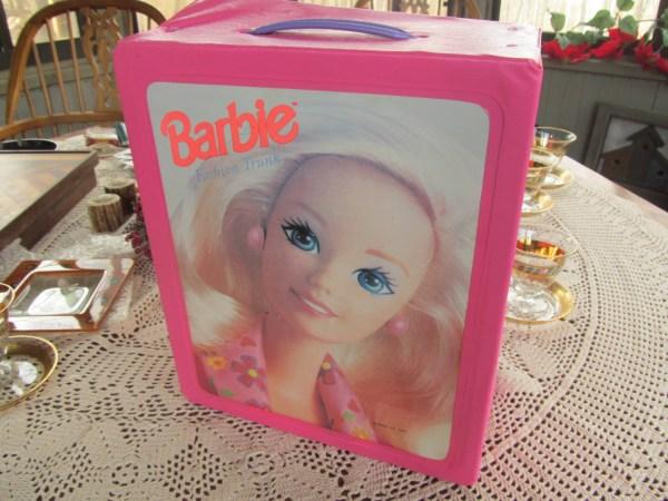 Vintage Barbie Doll Carying Case Fashion 1994