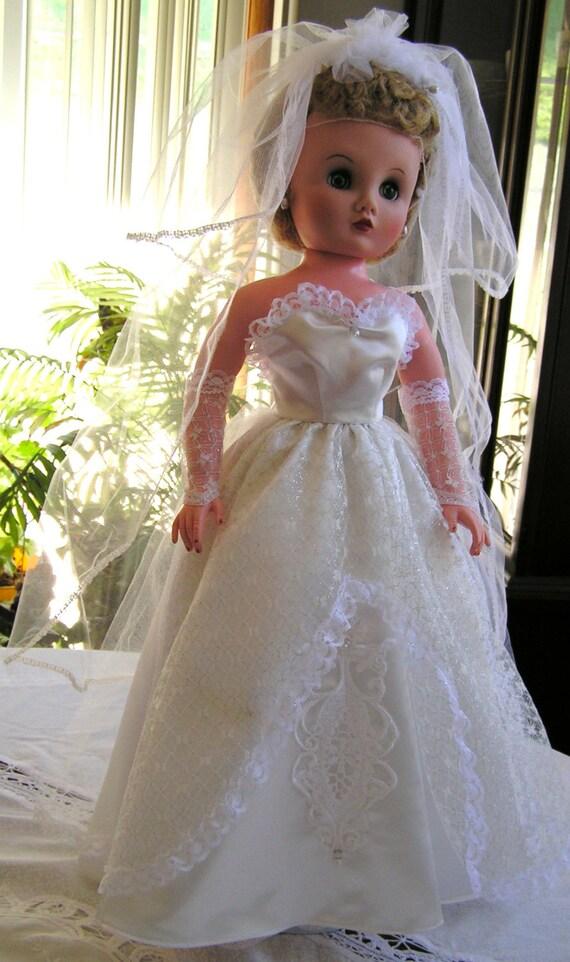 Beautiful Dream Princess Wedding Dress for 24 inch fashion