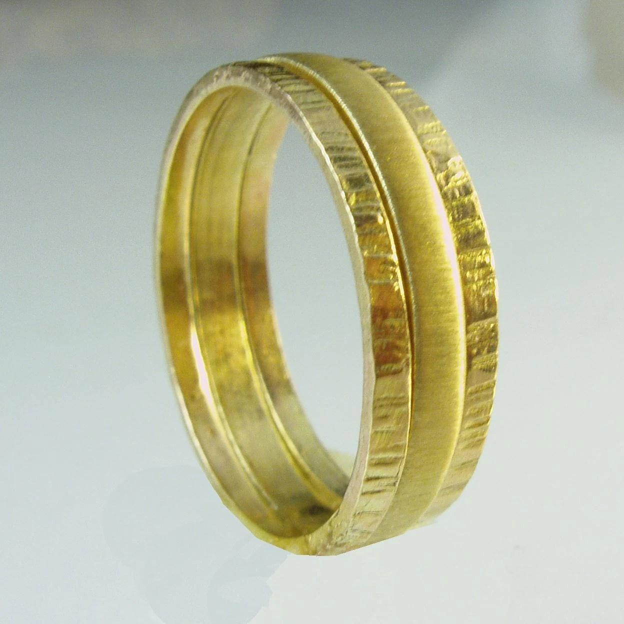Frau Ehering 14 Karat Ring gold Recycling Ehering Ring