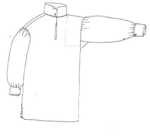 PI208 Boy's Late 18th Century Shirt Sewing Pattern by