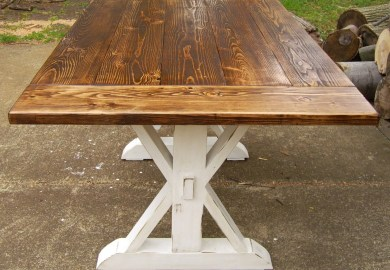 Reclaimed Wood Kitchen Table Etsy