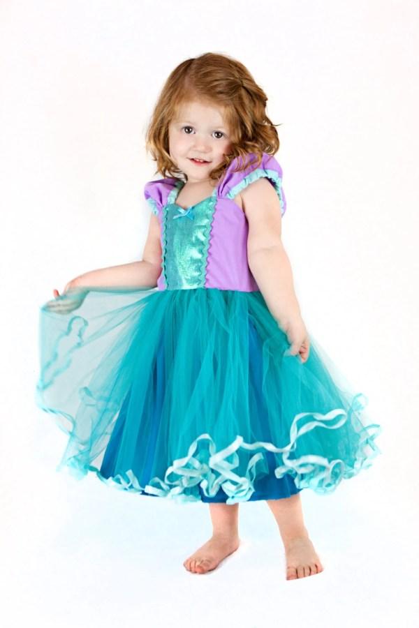Mermaid Dress Princess Tutu Birthday Party
