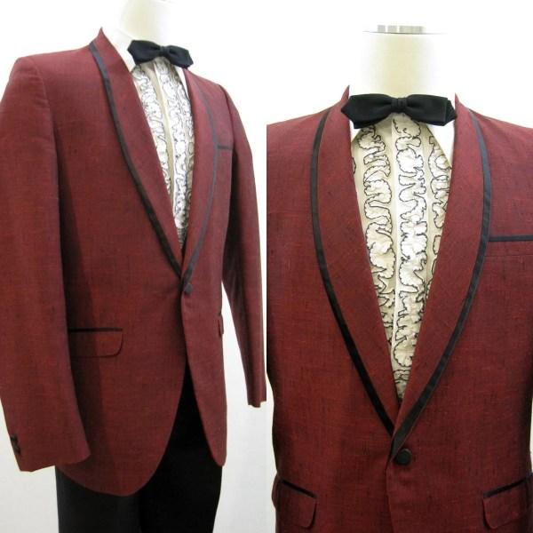 Dinner Jacket Men' Vintage 80s Tux Tuxedo Formal