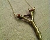 Slingshot Necklace - BRONZE - OldBlood