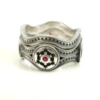 Star Wars Wedding Ring Set Engagement by SwankMetalsmithing