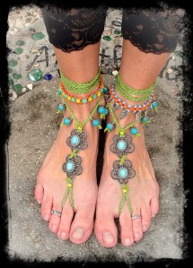 Hippie Dancer Barefoot Sandals